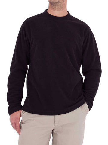 Textured Fleece Crew Shirt