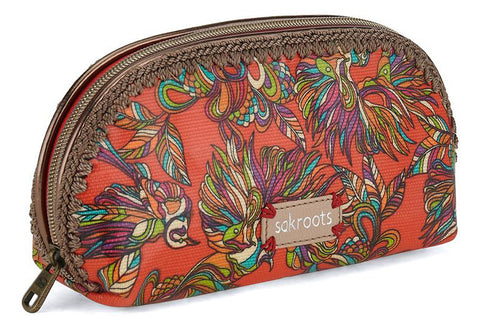 Artist Circle Small Dome Cosmetic Bag