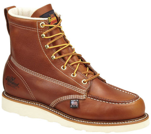 "6"" Moc Toe Safety Toe Boots"