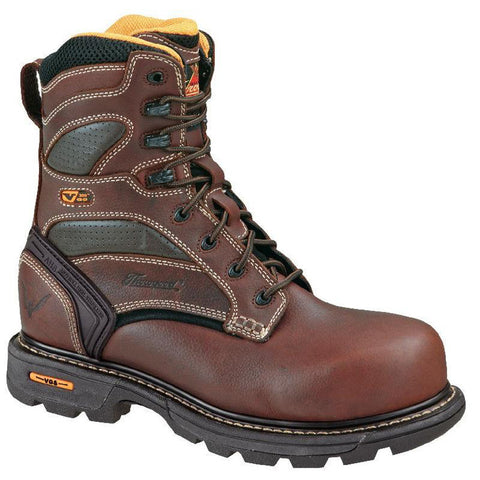 "8"" Plain Toe Work Boots"