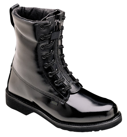 8'' Front Zip Uniform Boots