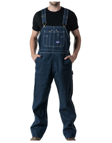 Big Smith Rigid Denim Bib Overall by Walls