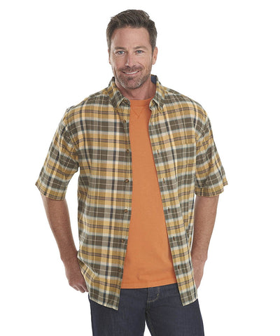 Timberline Madras Plaid Short Sleeve Shirt