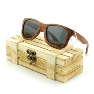 100% Bamboo Wooden Sunglasses Wood Frame