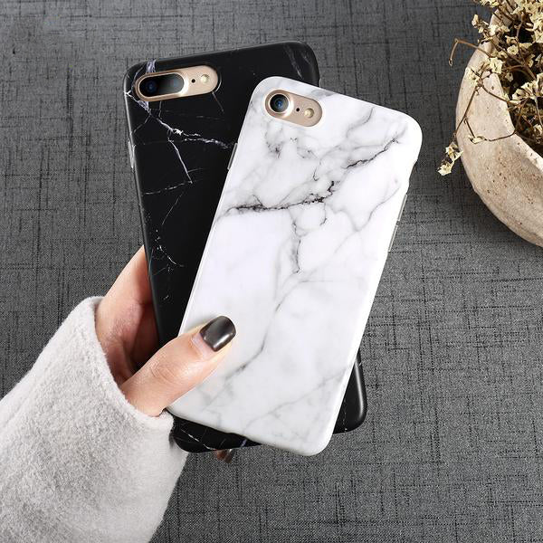 Marble Pattern iPhone Protector Case
