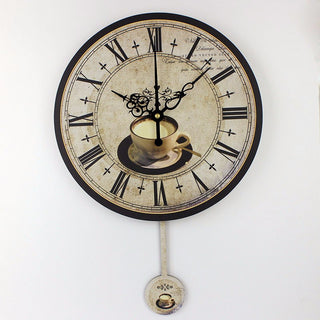 Large Cafe Decorative Wall Clocks