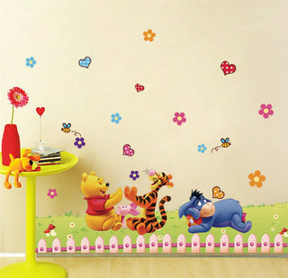 Winnie the Pooh Wall Stickers For Kids Room Wall Decal