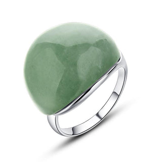 Natural Jade Stone Ring