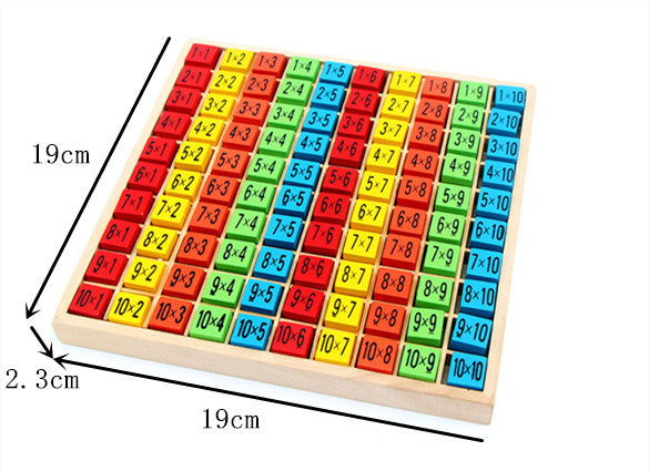 99 Multiplication Table Math Toy