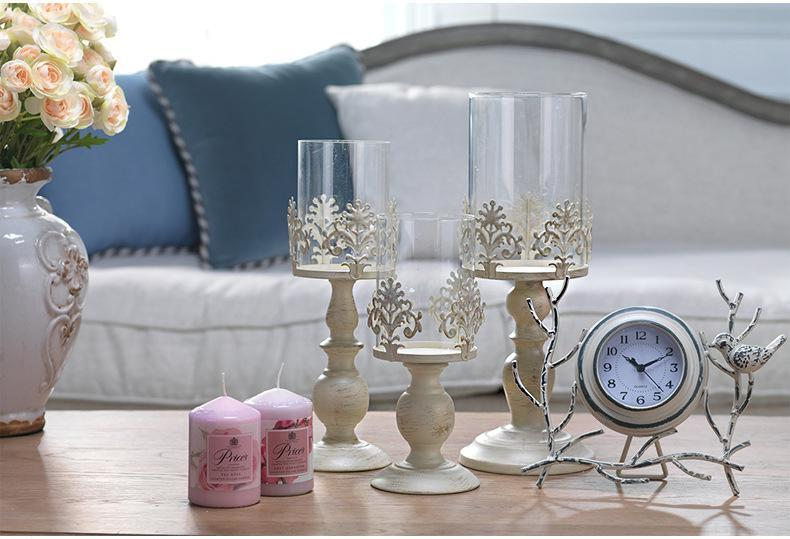 Elegant Votive Candle Holders - 3 Sizes