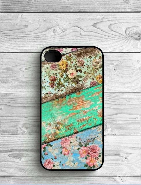Colorful Wooden Phone Case Covers for iPhone - Phone Protector