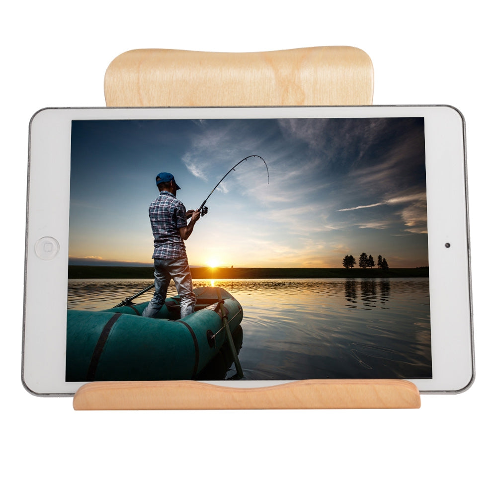 Ultra Light Wooden Tablet Holder Stand and Dock