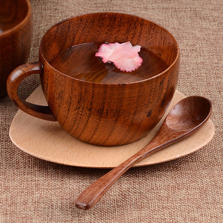 8.8oz Natural Jujube Wood Cups