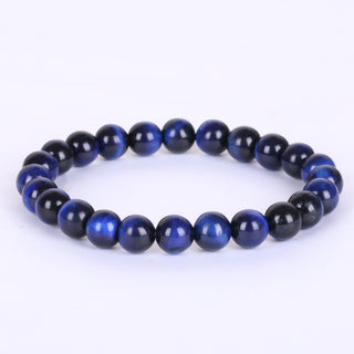 Blue Tiger Eye Stone Bracelets Jewelry