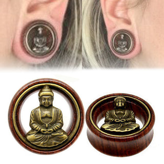 Buddha Ear Expander Ear Gauges