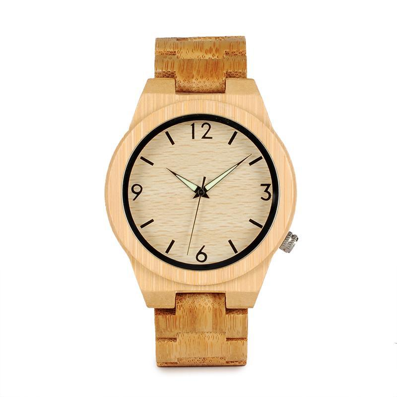 Everyday Bamboo Quartz Wood Watch