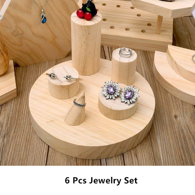 Jewelry Holders - Earrings, Ring, Necklace, Bracelets Stands