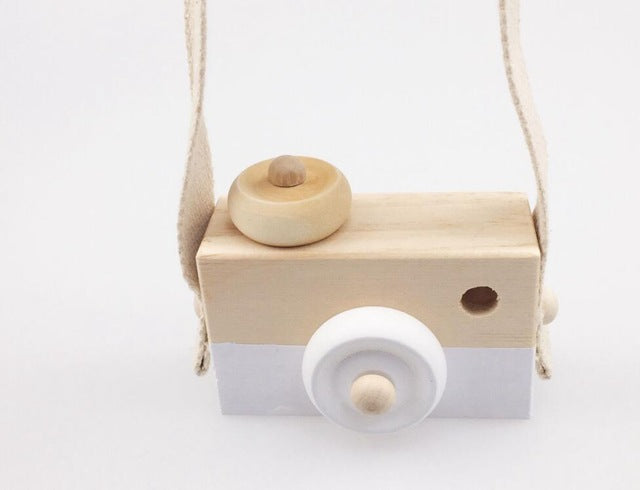Wooden Camera Toys - Birthday Gift Blocks