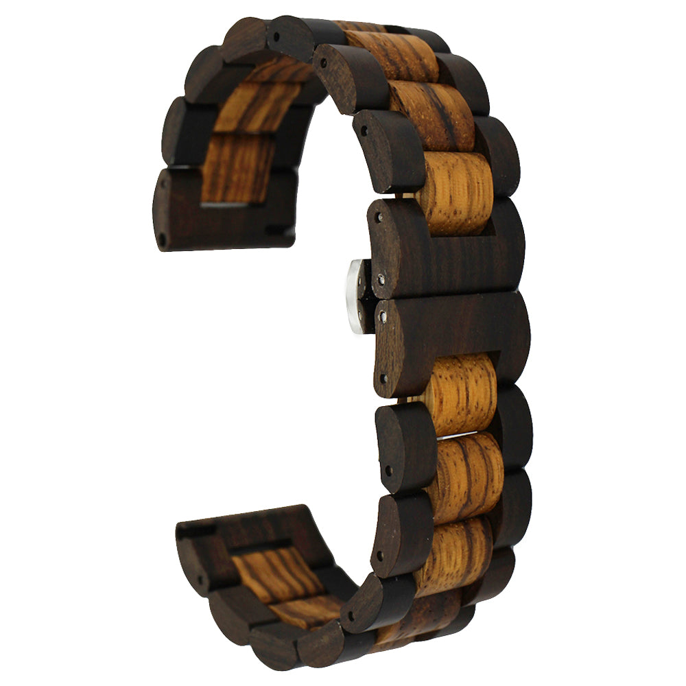 Wooden Watch Band 22mm for Samsung Gear S3 / Frontier