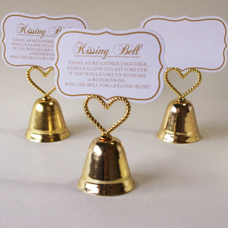 Kissing Bell Place Card Holder/Photo Holder - 20pcs/lot