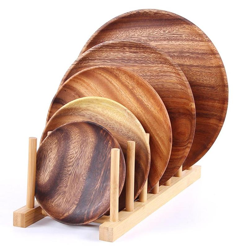 Dinnerware Wooden Beech Wood Plates