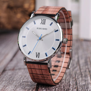Women's Ultra Thin Luxury Wood Quartz Watch