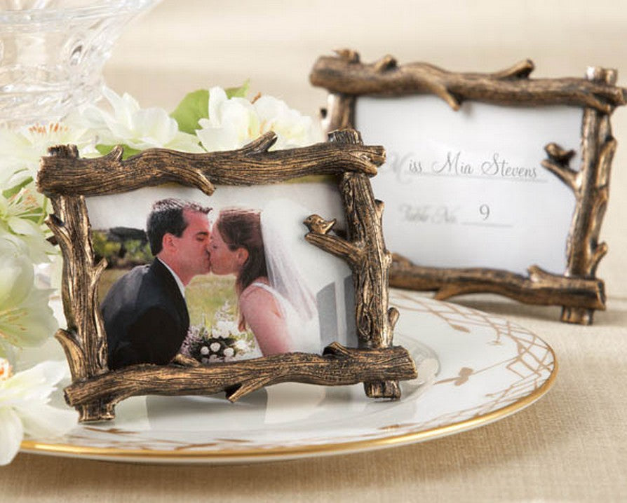 Tree Branch Place Card Photo Holder - 10 pcs