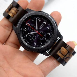 Dual Wood Watch Band for Samsung Gear