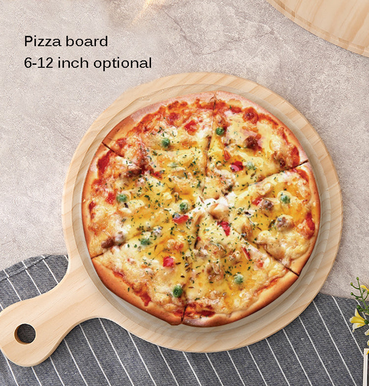 Round Wooden Pizza Pan Boards
