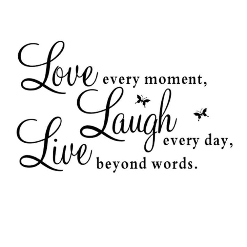 Live, Laugh, Love Vinyl Wall Decal Sticker