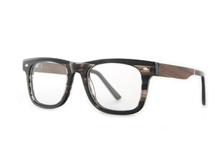 Clear Lens Bamboo Eye Glass Frames