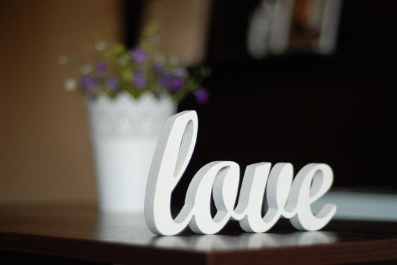 Love Sign Wooden Wall or Wedding Decor