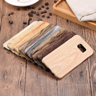 Luxury Wooden Phone Cases For Samsung Galaxy - Soft Silicone Cover