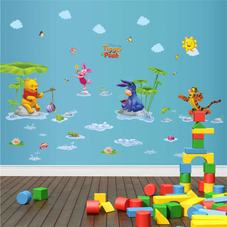 Winnie the Pooh Wall Nursery Decal Stickers
