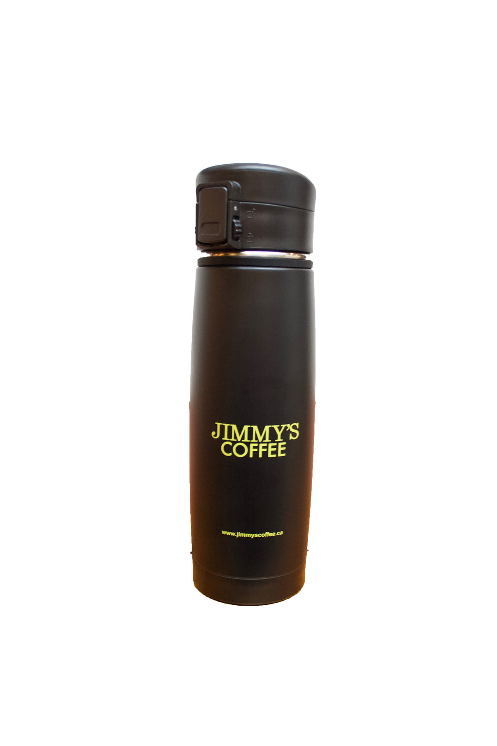Jimmy's Black Tumbler