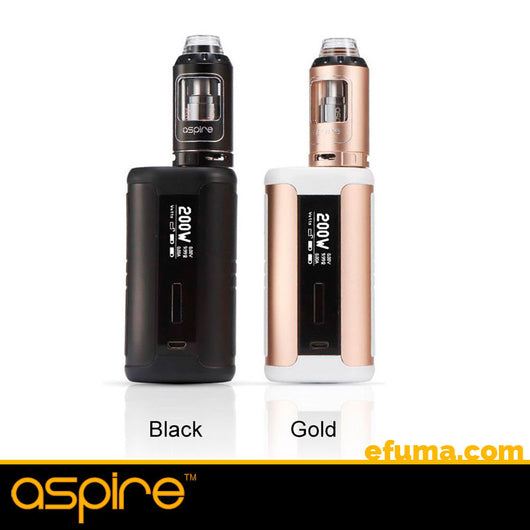2ml Speeder 200W  TC Kit fra Aspire