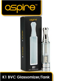 K1 BVC Glassomizer/Tank - 1.5ml - 1.6 ohm