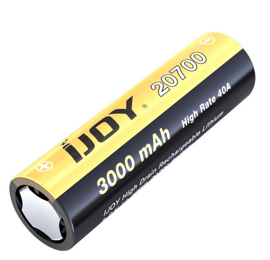3000mAh IJOY 20700 High Drain Rechargeable Battery - 40 fra iJoy