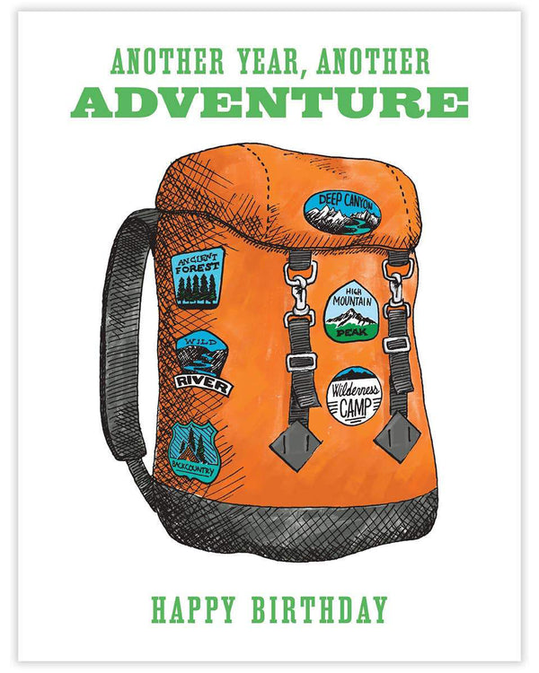 Backpack Adventure Card