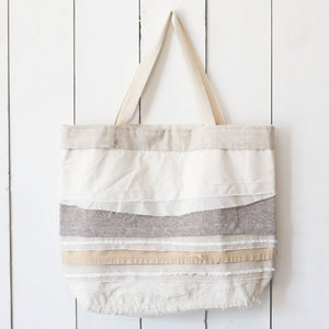 Upcycled Scrappy Jumbo Tote Bag
