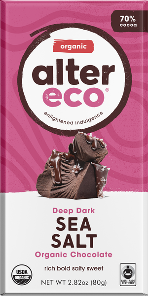 70% Dark Sea Salt Chocolate