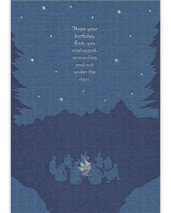 Under the Stars Card