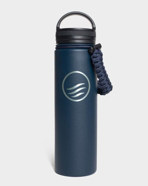 Signature 22 oz. Insulated Steel Water Bottle - Navy