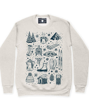 Winter Time Crew Neck Sweatshirt