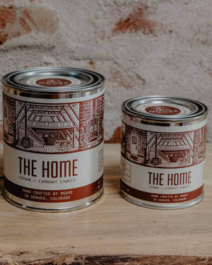 The Home Candle-1/2 Pint