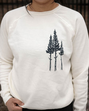 Rustic 3 Trees Pullover