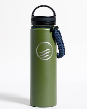 Signature 22 oz. Insulated Steel Water Bottle - Olive