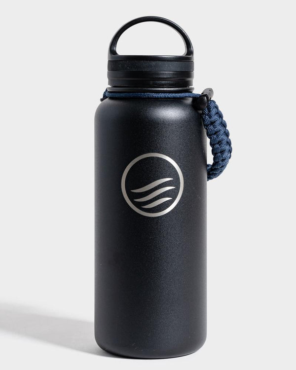 Signature 32 oz. Insulated Steel Water Bottle - Black