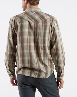H Bar B Tech Long Sleeve Thornton Plaid