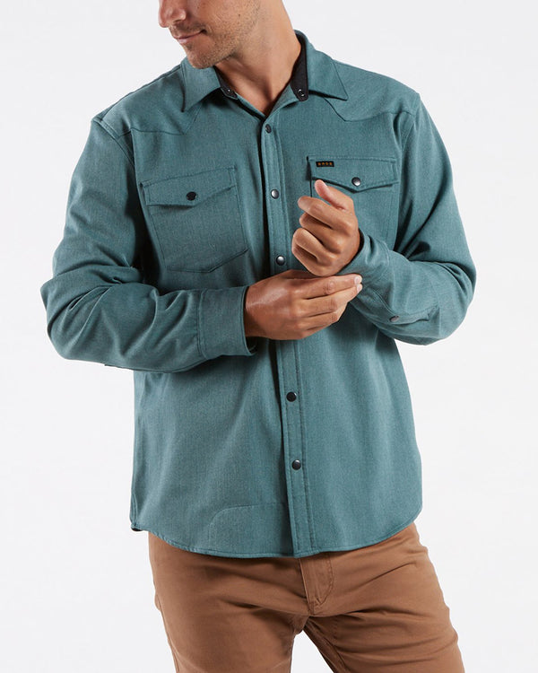 Stockman Stretch Snapshirt